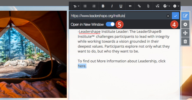 Hyperlinks in Rich Text Modules – Digication Help Desk