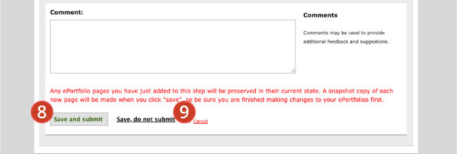 Submitting your ePortfolio to an Assignment – Digication